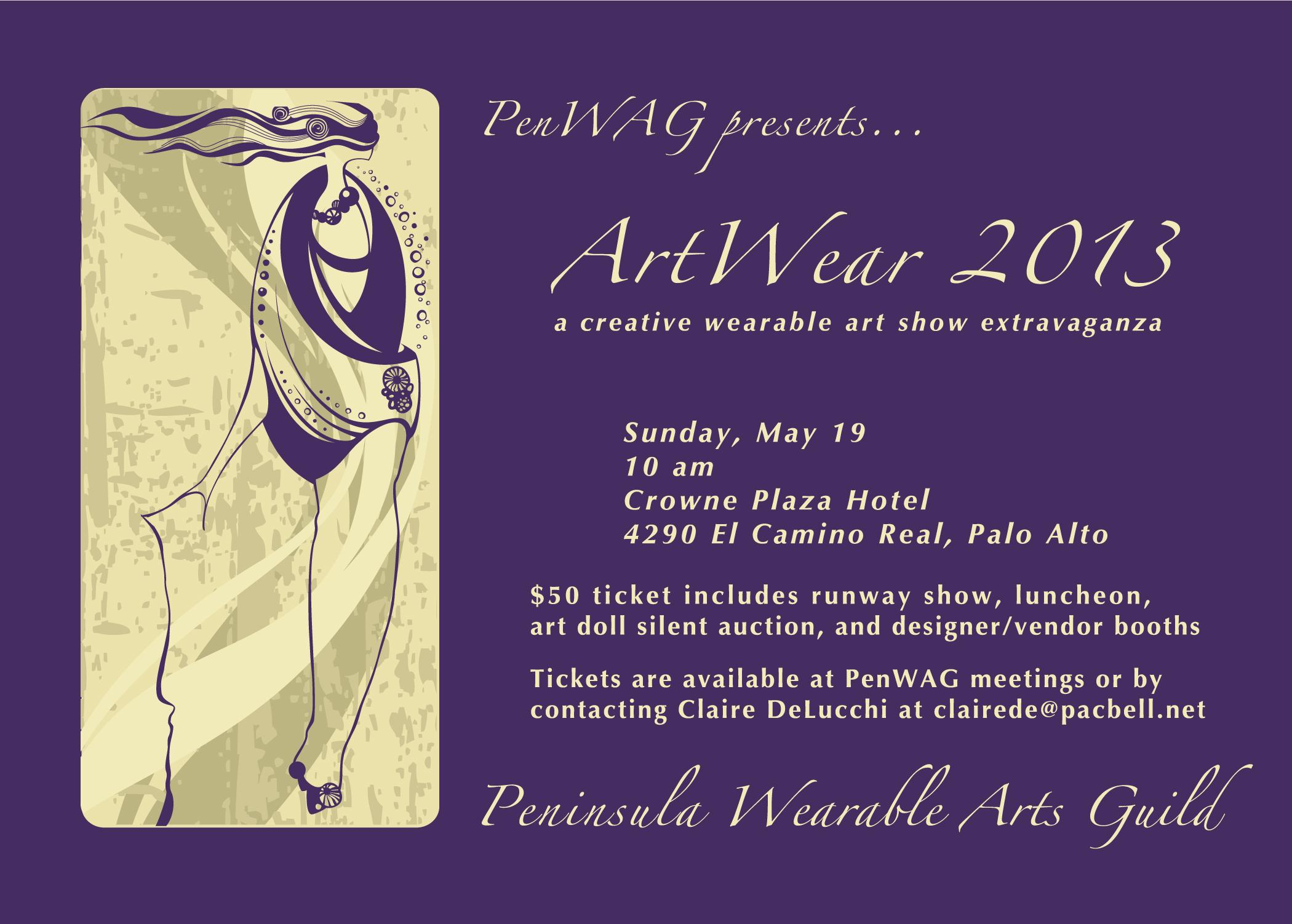ArtWear 2013 elex postcard